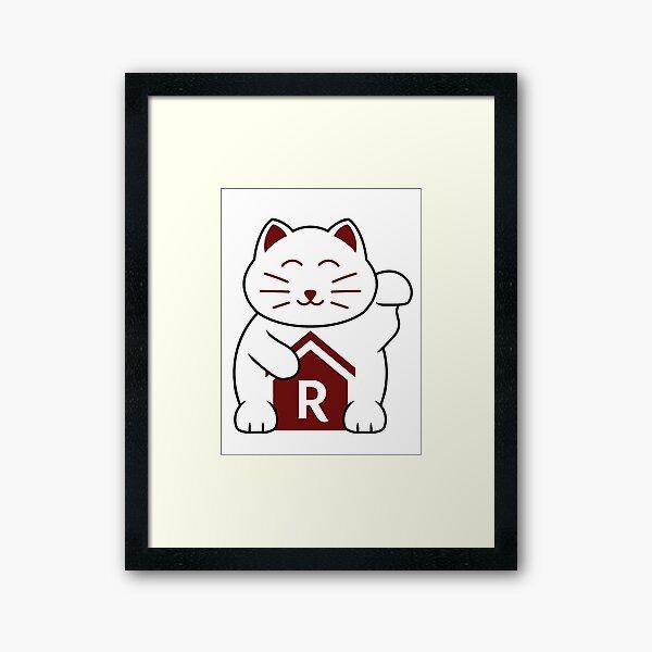 Cat shirt for Cat Shirt Fridays Framed Art Print