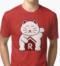 Cat shirt for Cat Shirt Fridays Tri-blend T-Shirt