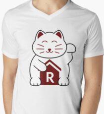 Cat shirt for Cat Shirt Fridays V-Neck T-Shirt