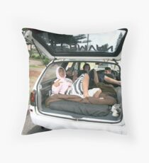 Boys in the Boot by Bernadette Smith (c) Throw Pillow