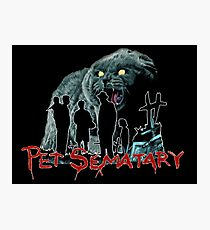 Pet Sematary  Photographic Print