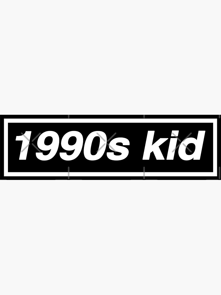 1990s Kid - OASIS Band Tribute - MADE IN THE 90s by phigment-art