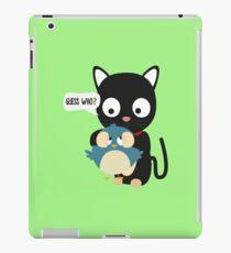 Bird and Cat Guess Who beautiful-Design iPad Case/Skin