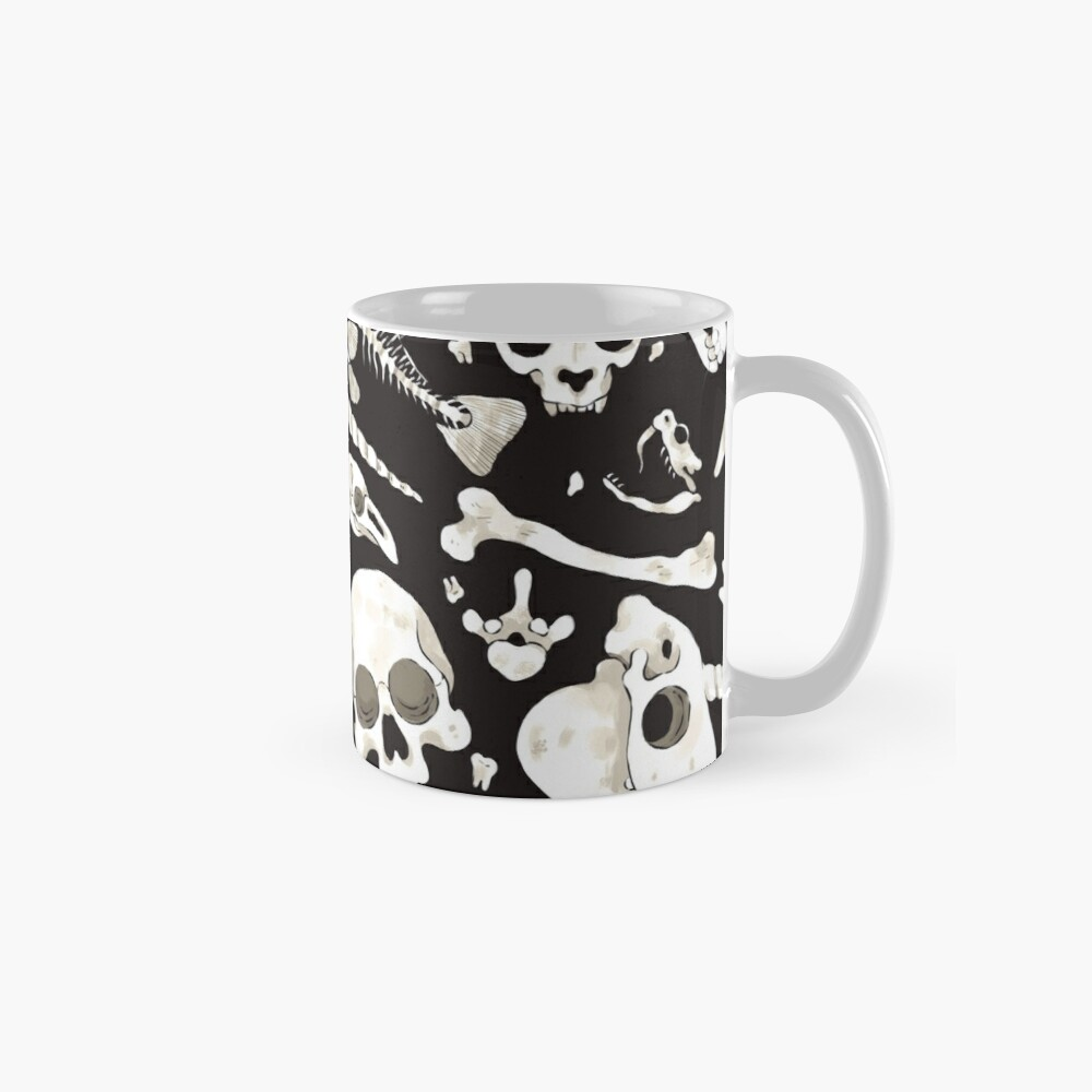 black Skulls and Bones - Wunderkammer Mug