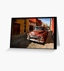 San Miguel de Allende Greeting Card