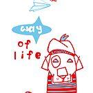 funny dog, kleiner Hund, dog, way of life von einechtervogel