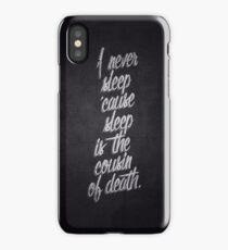 Nas iPhone Case/Skin