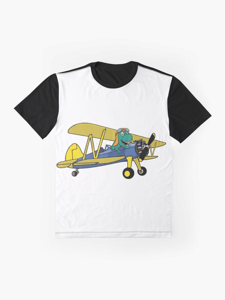 Alternate view of DinoPlane Graphic T-Shirt