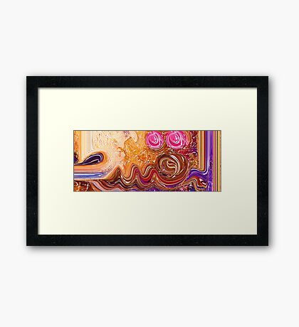 Al Muqsit Allah name Painting Framed Print