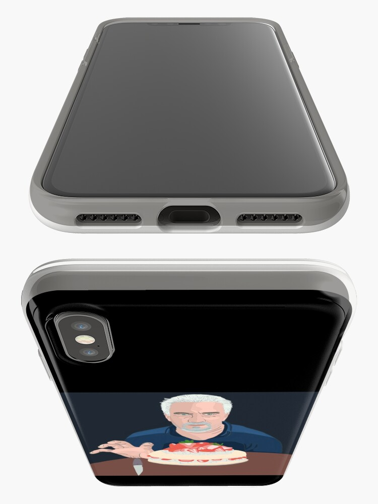 Alternate view of Paul Hollywood is hungry iPhone Case & Cover