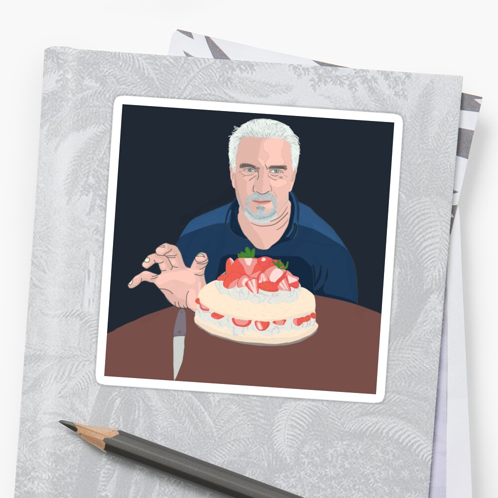Paul Hollywood is hungry Sticker