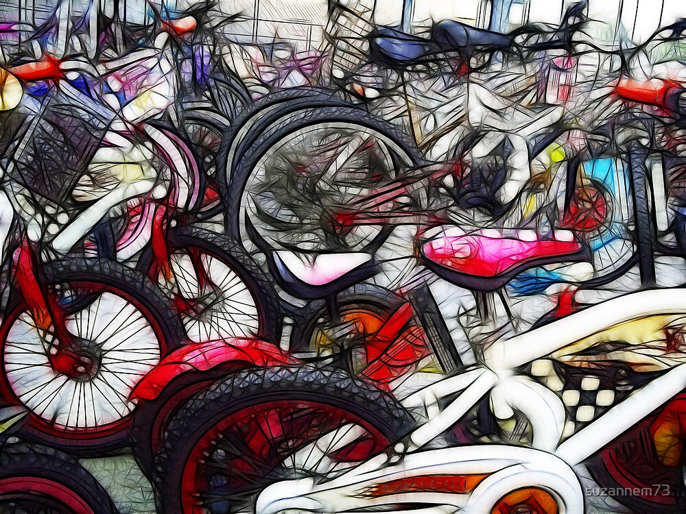 Bikes Galore by suzannem73