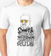 the big lebowski - Good buildings come from good people, and all problems are solved by good design. Unisex T-Shirt