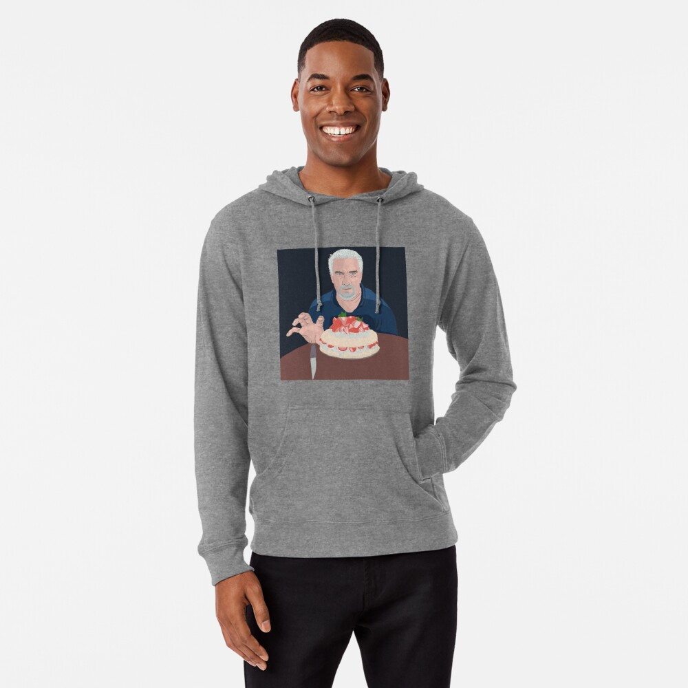 Paul Hollywood is hungry Lightweight Hoodie