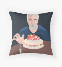 Paul Hollywood is hungry Throw Pillow
