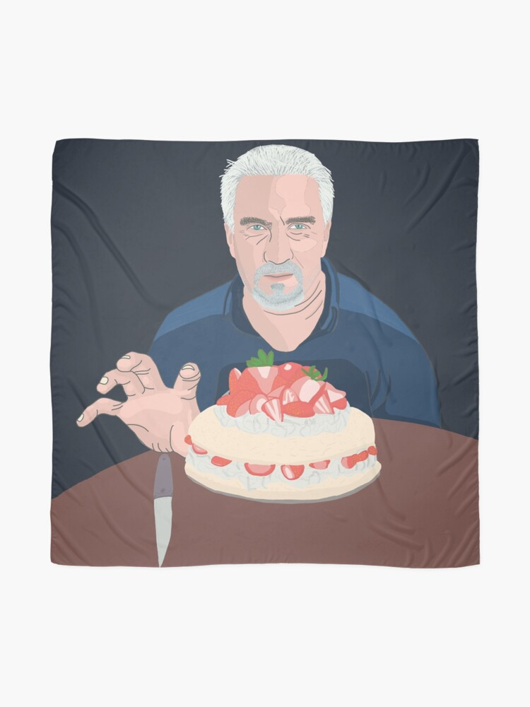 Alternate view of Paul Hollywood is hungry Scarf