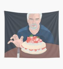 Paul Hollywood is hungry Wall Tapestry