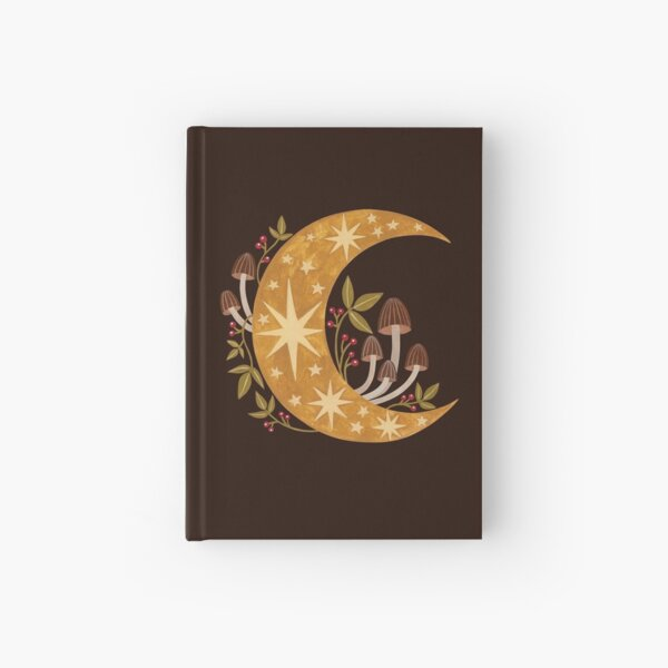 Forest moon Hardcover Journal