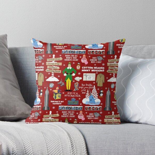 Buddy The Elf Pillows Cushions Redbubble