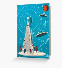 Xmas Machina Greeting Card