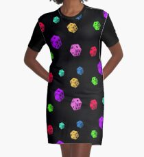 Dice Dice Baby Graphic T-Shirt Dress