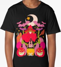 All spooky and red Long T-Shirt