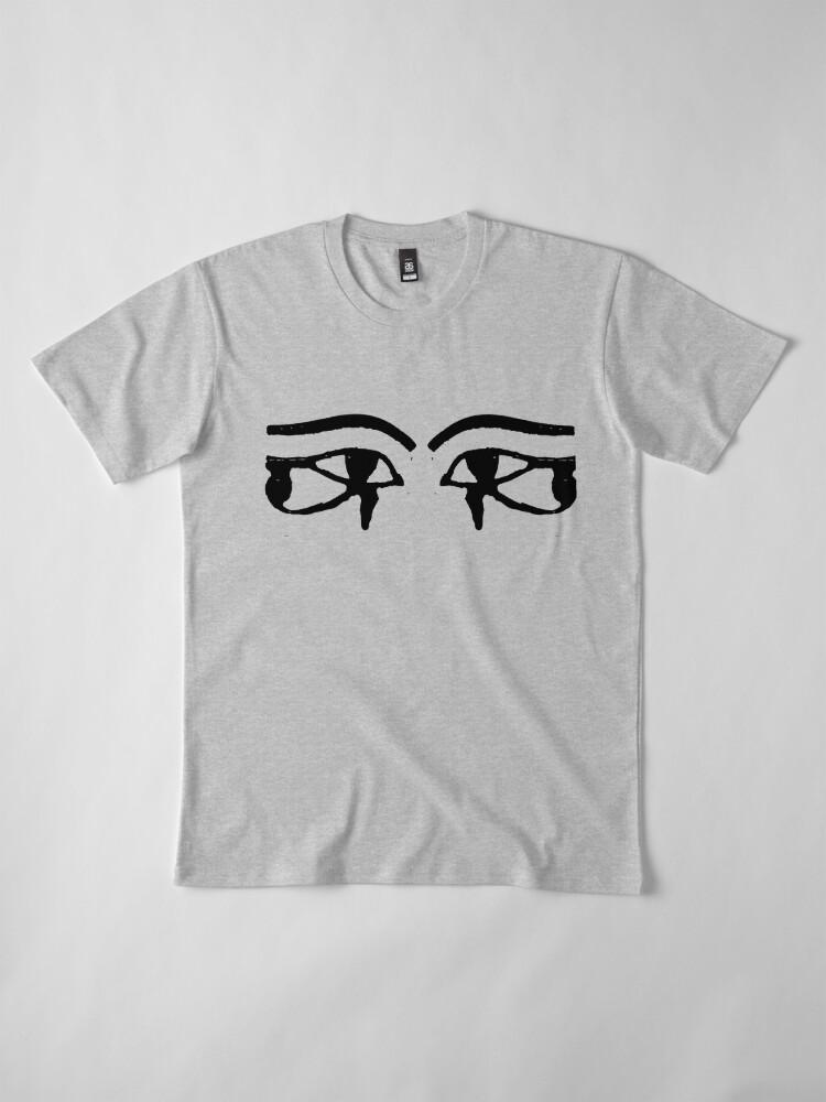 Alternate view of horus eyes Premium T-Shirt