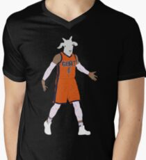 Russell Westbrook, The GOAT Men's V-Neck T-Shirt