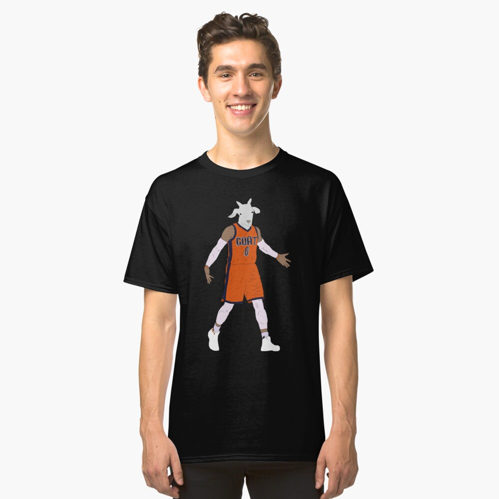 Russell Westbrook, The GOAT Classic T-Shirt Front