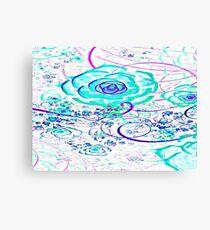 White Essence Of Flower Canvas Print