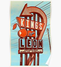 Kings of Leon - October 20, 2017, Schotteins Center Columbus ohio Poster