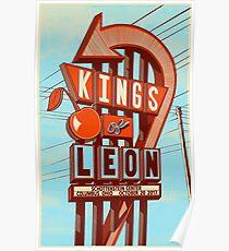 Kings of Leon - October 20, 2017, Schotteins Center Columbus ohio Poster