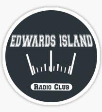 Edwards Island Radio Club Sticker