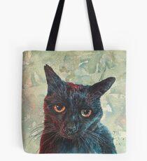 Pooky the Black Cat Tote Bag
