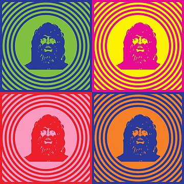 Bionic Bigfoot Sasquatch Pop Art by retrorebirth
