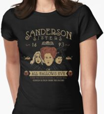 sanderson sisters - We design our world, while our world acts back on us and designs us. Women's Fitted T-Shirt