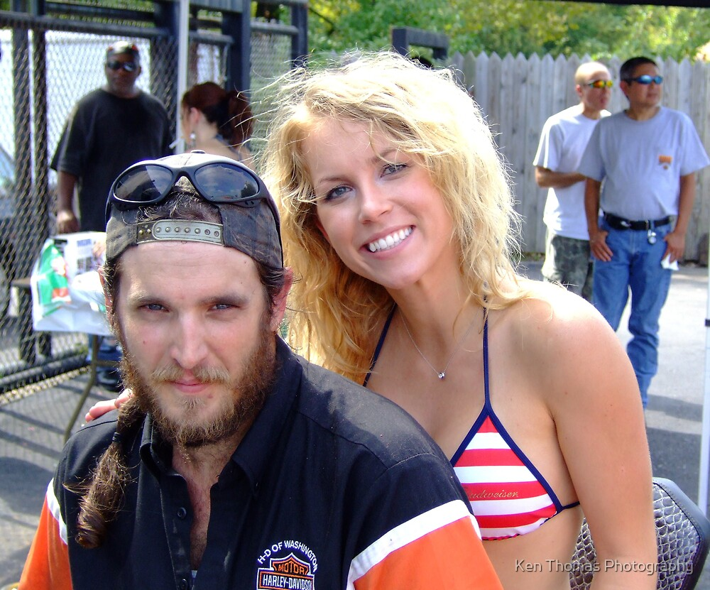 Beauty and the Biker by Ken Thomas Photography