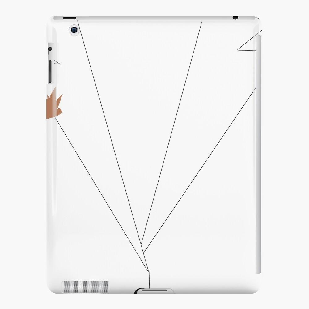 Traje de poder blanco de Ilana Funda y vinilo para iPad