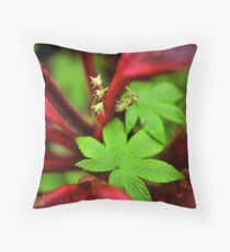 Wild Flora Throw Pillow