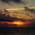 Striking Sunset by Gloria Abbey