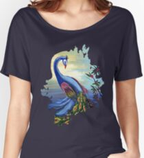 Peacock Life Women's Relaxed Fit T-Shirt