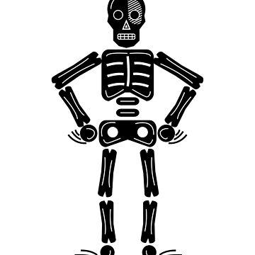 Equeletor black de vayavalles