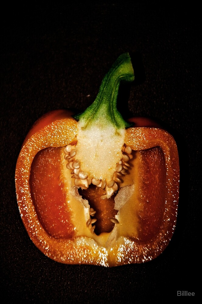 Under Cooked Pepper by Billlee