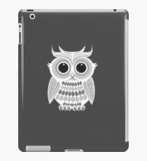 White Owl - Grey iPad Case/Skin