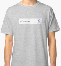 Camiseta clásica Yo hago clic por lo tanto