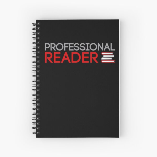 Professional Reader Spiral Notebook