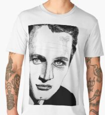 Paul Newman - Close up Men's Premium T-Shirt