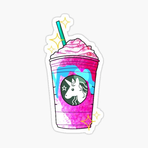 Unicorn Frappuccino Sticker