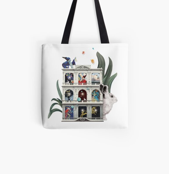 Library of Wonders All Over Print Tote Bag