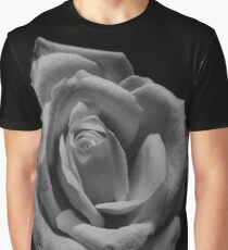 Monochrome rose Graphic T-Shirt